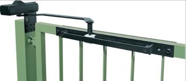 Ferme portillon 680C à glissière pour portillons jusqu'à 1400 mm de largeur et 2800 mm de hauteur