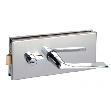 Serrure pour porte clarit série 900 chromé brillant