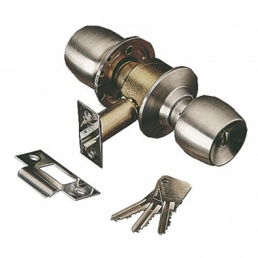 Serrure tubulaire à cylindre Vachette V58 inox