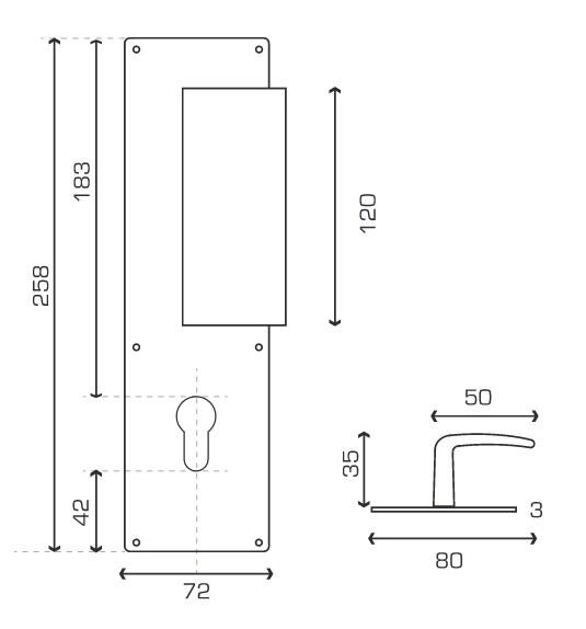 plaque de propret jasmin renforc l 39 acces. Black Bedroom Furniture Sets. Home Design Ideas
