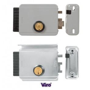 Serrure électrique BLOCK-OUT entraxe réglable de 50 à 80mm