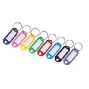 Porte-clés étiquette avec anneau simple