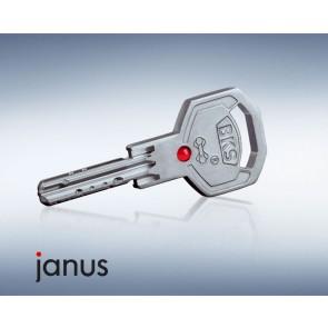 Clé brevetée BKS Janus série 45 et série 46