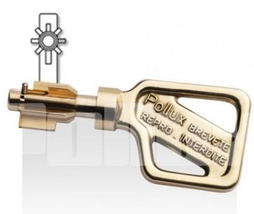 Clé brevetée Pollux 7000