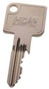 Clé brevetée Vachette HDI+