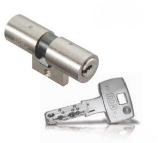 Cylindre adaptable Flexidom diamètre 22mm pour Bricard