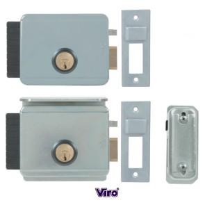 Serrure électrique V97 entraxe réglable de 50 à 80mm pour ouverture sur l'extérieur