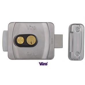 Serrure électrique V9083 pêne dormant rotatif avec bouton poussoir