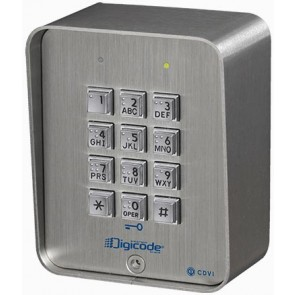 Digicode applique braille - Inox