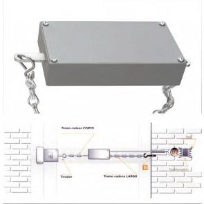 Gâche électrique à chaînette DORCAS 80