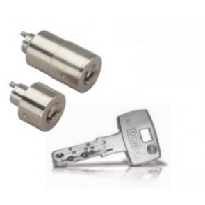 Cylindre adaptable Flexidom diamètre 27mm pour JPM-Keso