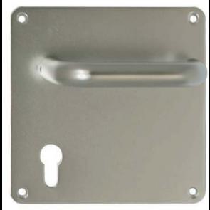 Plaque de propreté carrée avec béquille mobile